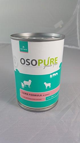 Artemis Osopure Grain Free 12oz Lamb Formula Can 12 Pack