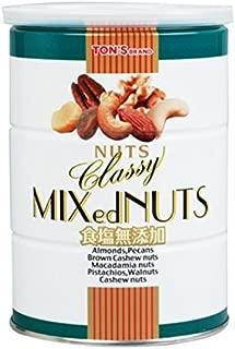 東洋ナッツ 食塩無添加クラッシーミックスナッツ缶 360g