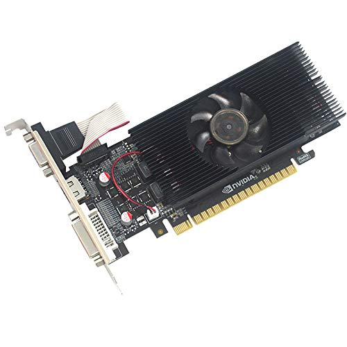 xiaoxioaguo Grafikkarte GTX1050 Computer Small Server Diskrete Grafikkarte 2G DDR5