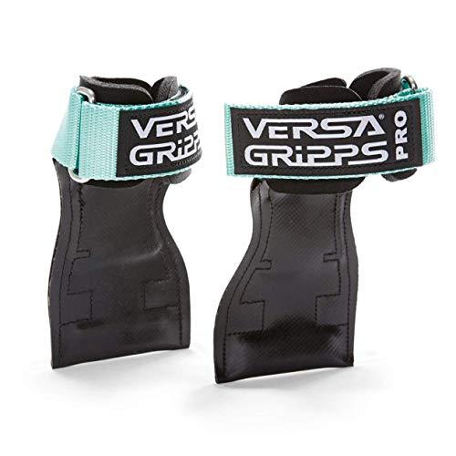 Versa Gripps PRO バーサパワーグリップ 筋力トレーニング・リストストラップ made in the USA (Mint/ミント, SM:15.6-18.0cm)