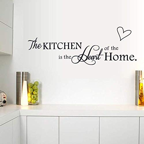 Wall Stickers, Inspirational Quotes Artistic Text Diy Removable Kitchen Home Decor Mural Decal