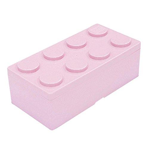 A9.ダイヤブロック ブロックコンテナL ミルキーピンク