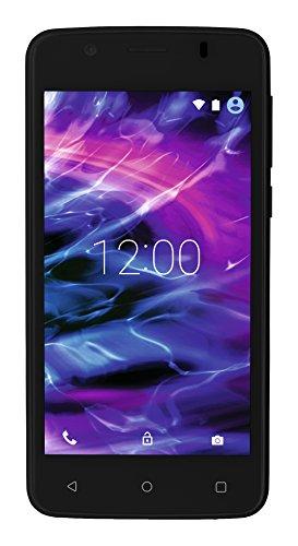 Medion MD 99478 E4506 Smartphone (11,4 cm (4,5 Zoll) Touchscreen-Display, 5 Megapixel Kamera, Quad-Core-Prozessor, Dual-SIM, WiFi, 8GB interner Speicher, Android Lollipop 5.1) schwarz