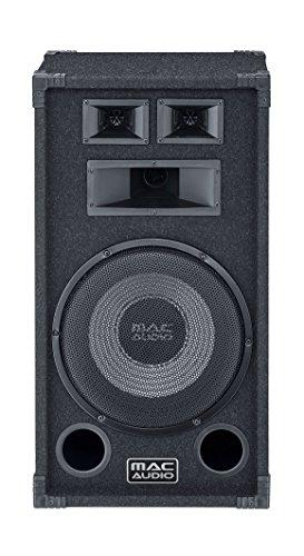 Mac Audio Soundforce 1300 | Partylautsprecher | 400 Watt  | max. Belastbarkeit und enormer Schalldruck | 1 Stück - schwarz