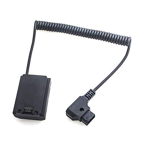 NP-FZ100 Dummy batería a D-Tap adaptador de conexión con cable de carga para cámara digital Sony A7III A7RIII A7SIII A9 ILCE-9