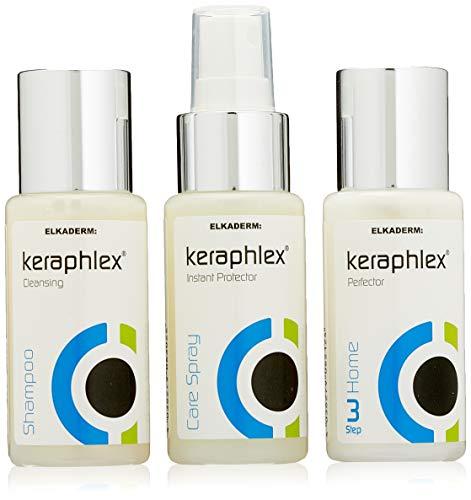 Elkaderm - Juego de productos Keraphlex Power, 1 paquete con 3 unidades...