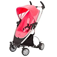 """Ultra compact fold - folds with seat on Improved with """"memory"""" fold buttons Reversible seat that reclines to multiple positions with one hand Expandable canopy and storage basket Compatible with Maxi-Cosi Mico and Prezi Infant Car Seats"""