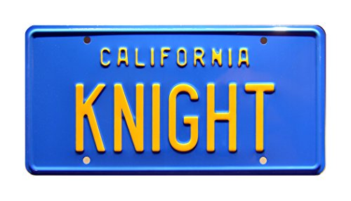Knight Rider | KNIGHT | Metal Stamped License Plate