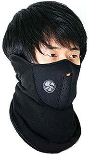BIGZOOM-Black - Face Mask Neck Cover Neoprene for Riding Bike Dust Sun Heat Protection**