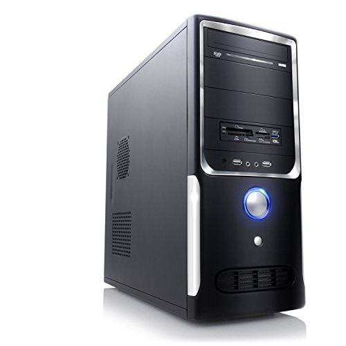 PC - CSL Speed 4548 (Core i5) - Gaming QuadCore! PC-System mit Intel Core i5-4690 4X 3500 MHz, 1000GB SATA, 8192MB DDR3, GeForce GT 730 4096MB, DVD-RW, CardReader, GigLAN, 7.1 Sound, USB 3.0