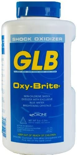GLB 71418A Oxy Brite Non Chlorine Shock Oxidizer 5 Pound product image