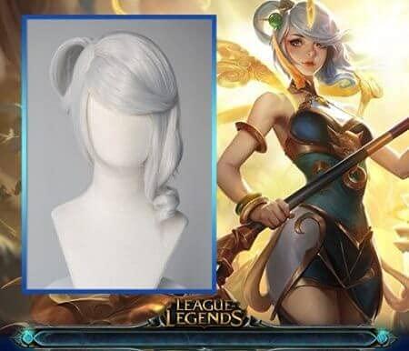 League of Legends Lunar Empress Lux - Parrucca per cosplay