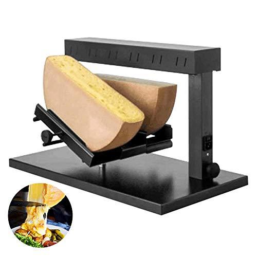 IDABAY Raclette Queso, Calentador de Queso Comercial con Ángulo Ajustable, Doble Cabezas