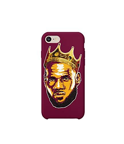 Carcasa protectora para iPhone 6/6s, diseño de jugador de baloncesto King James 03_MRZ0154