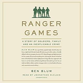 Ranger Games audiobook cover art
