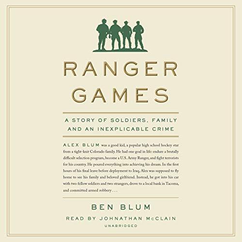 Page de couverture de Ranger Games