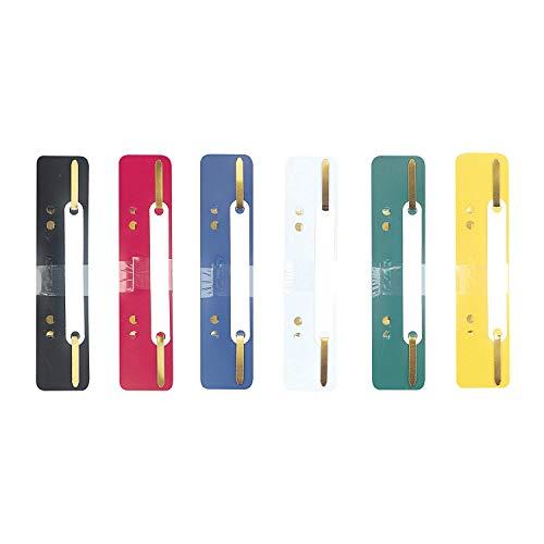 Herlitz 8767402 Heftstreifen PP fs 150er Packung, farbig sortiert