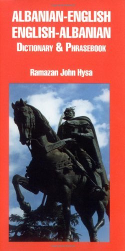 Albanian-English/English-Albanian Dictionary and Phrasebook (Dictionary and Phrasebooks) (Dictionary & Phrasebooks Backlist) (English Edition)