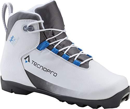 Tecnopro Damen Safine Sonic Prolink Traillaufschuhe, Weiß (White/Black/Blue 900), 42 EU