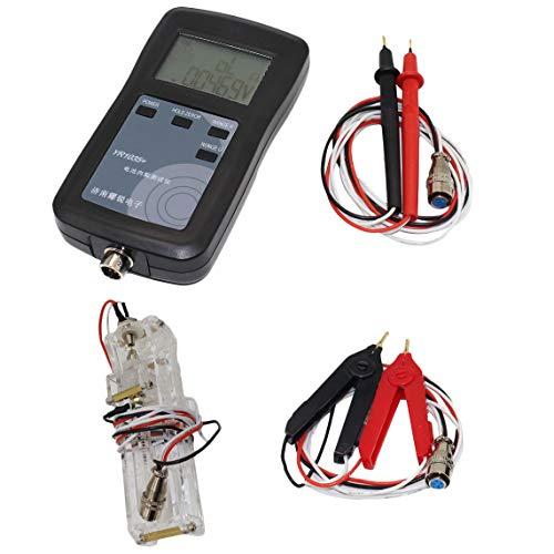 SNOWINSPRING 4 Linie Yr1035 Hoch Pr?Zise Lithium Batterie Innen Widerstand Detektor Instrument Ni Mh/Ni Cd Knopf Batterie Tester EU Stecker