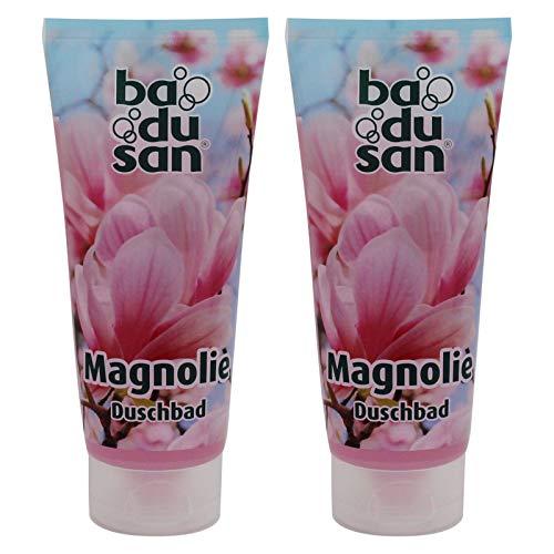 2er Pack Badusan Duschgel Duschbad Magnolie 2 x 200 ml Tube