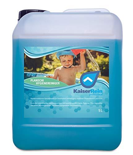 KaiserRein professional Planschi 5 Lzur Desinfektion und Reinigung von Kinder- Planschbecken Pool und Schwimmbad I Desinfizieren ohne Chlor