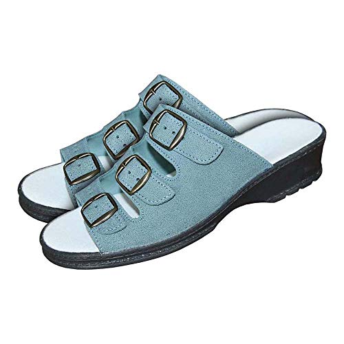 Medibut Bmbioform_N38 - Zapatos de trabajo, color azul, talla 38