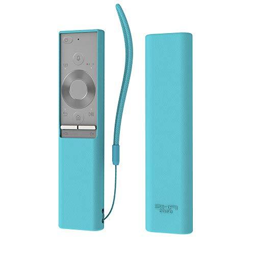 Carcasa de Silicona Antideslizante para Mando a Distancia Samsung BN59-01265A (Luminoso Azul)