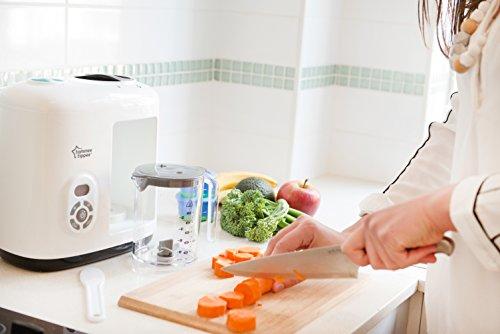 Tommee Tippee 440065 Dampfgarer & Mixer für Babynahrung, weiß - 5