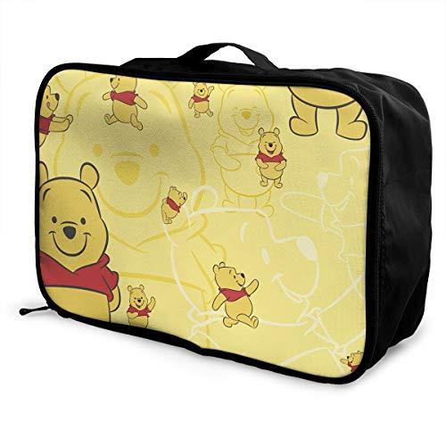 Meirdre Borsone da Viaggio Winnie Pooh, Leggero e di Grande capacità, Borsa da Viaggio