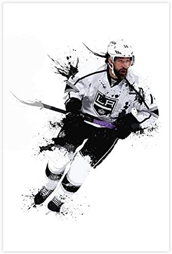 """ZRRTTG Lienzo Y Arte De Pared PóSter Justin Williams Hockey para decoración de Porche Pintura Pared Y Estampados Cuadros 15.7""""x23.6""""(40x60cm) Sin Marco"""
