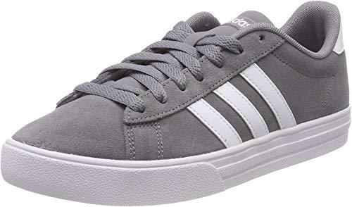 Adidas Daily 2.0, Zapatillas para Hombre, Gris (Grey/Footwear White/Footwear White 0), 43 1/3 EU