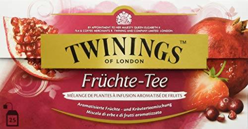 Twinings Früchte-Tee, 25 Beutel x 2g, 50g, 1 Packung (1 x 50 g)