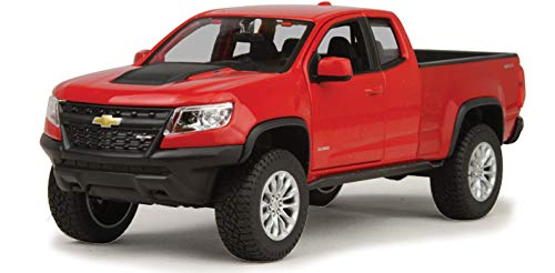 2017 Chevrolet Colorado ZR2 Pickup Truck Red 1/27 Diecast Model Car by Maisto 31517