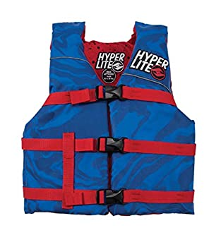 Hyperlite Unite Youth CGA Wakeboard Vest Blue Youth  50-90Lbs