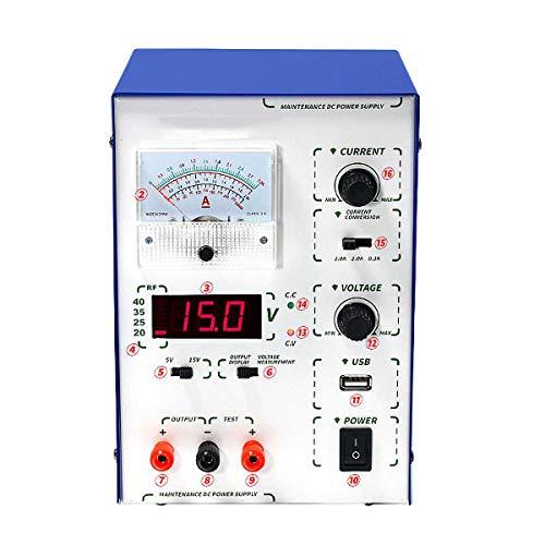 QWERTOUY 1Pcs 45W einstellbare Digitale DC Versorgungs Stabilisatoren Spannungsregler Versorgung 110V / 220V