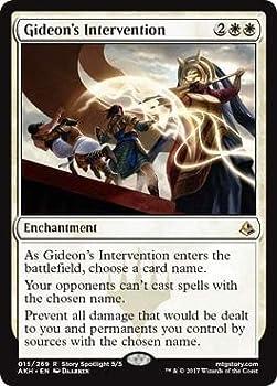Wizards of the Coast Gideon s Intervention - Amonkhet