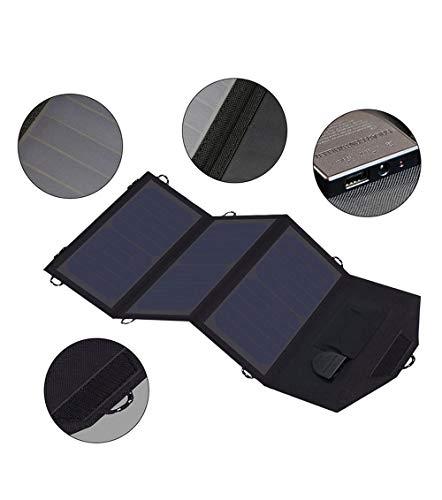 smileyshy Panneau Solaire Chargeur Solaire Batterie Solaire