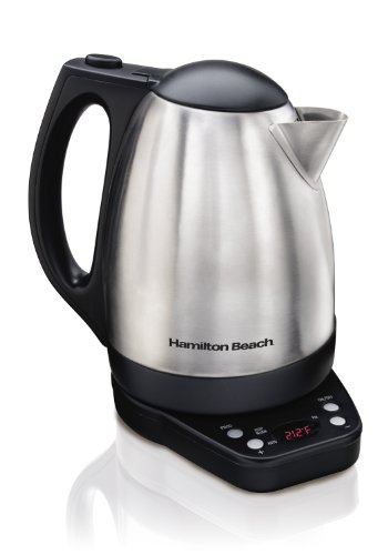 Hamilton Beach 40996 Programmable Kettle, 1.7-Liter