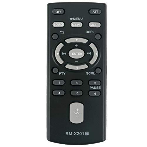 VINABTY RM-X201 Telecomando per Sony il sistema audio stereo da auto CDX-GT260MP CDX-GT360MP CDX-GT360MP CDX-GT270MP CDX-M20