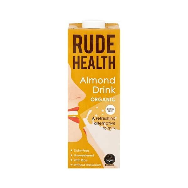 Rude Health Organic Almond Drink , 1 Litre
