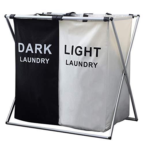Hamkie HQ Opvouwbaar met dubbele legplank voor waskleding - 3 optioneel A+