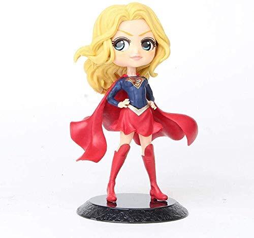 cheaaff Q posket Wonder Woman Harley Quinn Joker Superhero Action PVC Figure Figure Anime Bambole da collezione Giocattoli per bambini-A1-E. E.