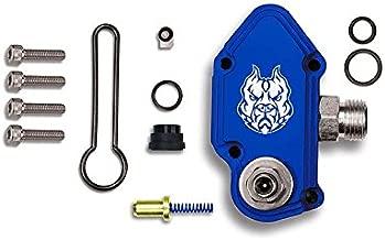 Sinister Diesel SD-FUELBLK-6.0-ADJ Blue 03-07 Ford Power Stroke 6.0L Kit with Adjustable Billet Spring Housing