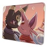 Tapis de souris Pokémon mignon, personnalisé, en caoutchouc, adapté pour les gamers, le bureau et la famille, 21,1 x 26,2 cm