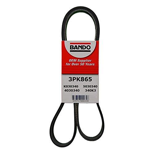 Bando 3PK813Cinturón Serpentina de calidad de fábrica, 3PK865