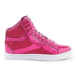 Pastry Pop Tart Glitter High-Top Sneaker & Dance Shoe for Women