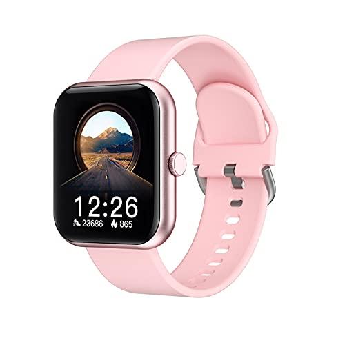 WPH El Nuevo Reloj Inteligente I8 para Hombres y Mujeres 1. Pantalla de Color IPS de 7 Pulgadas, IP67 Impermeable, Soporte de Bluetooth 5.0, RECORDATORIO DE INFORMACIÓN Link Android y iOS