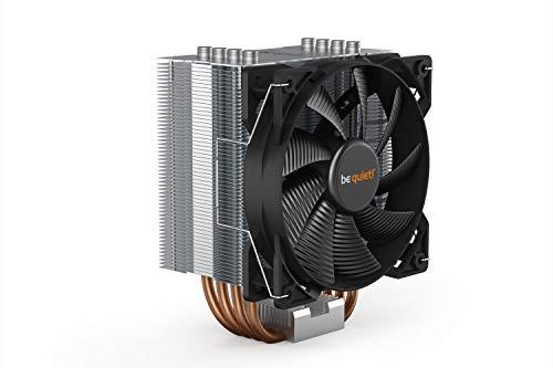 Be Quiet Pure Rock CPU-Kühler, 120 mm PWM-Lüfter, passt sowohl Intel als auch AMD-Buchsen, DREI Jahre Abdeckung, BK006