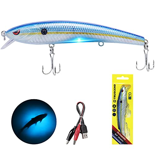 TRUSCEND Electronic Twitching Jerkbait - Robotic Fishing Lures...
